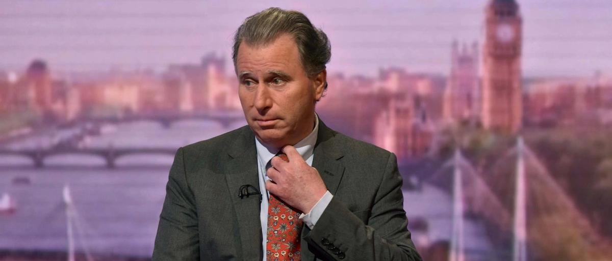 Oliver Letwin est l'espèce de crapule, le traitre qui a introduit un amendement voté, qui détruit le Brexit.