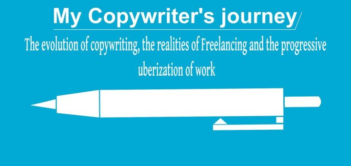 """I announce the release of my book entitled, """"My copywriter Journey"""""""