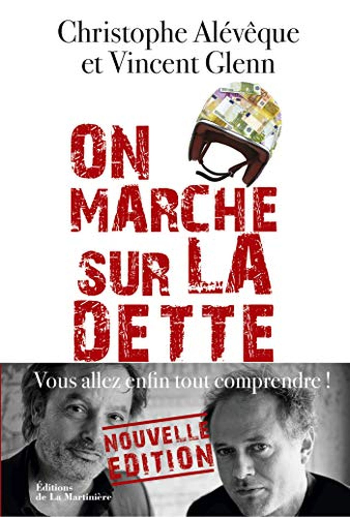 """Comme avec Bienvenue à Webland, Christophe Alévêque nous offre un livre très pédagogique avec """"On marche sur la dette"""", mais parfois, ses conclusions trahissent son idéologie ou sa cécité."""